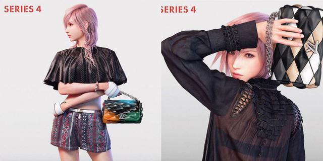 """Những hình ảnh mới về """"siêu mẫu"""" Lightning trong bộ sưu tập Louis Vuitton"""