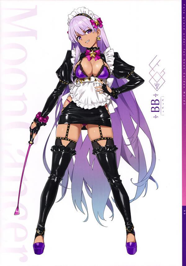 Rạo rực trong người với cosplay BB Maid có tâm hồn cực đẹp trong FGO