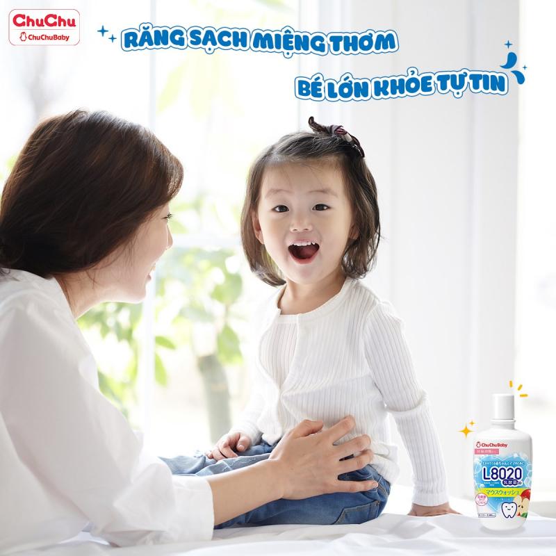 Top 11 Thương hiệu nước súc miệng cho bé được tin dùng nhất hiện nay
