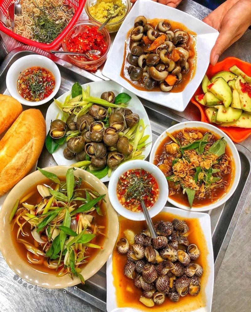 Top 10 Quán ốc ngon nhất khu vực trung tâm thành phố Đà Nẵng
