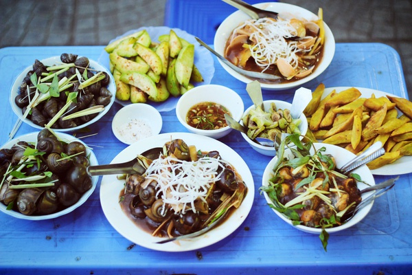 Top 5 Quán ốc ngon nhất quận Cầu Giấy, Hà Nội