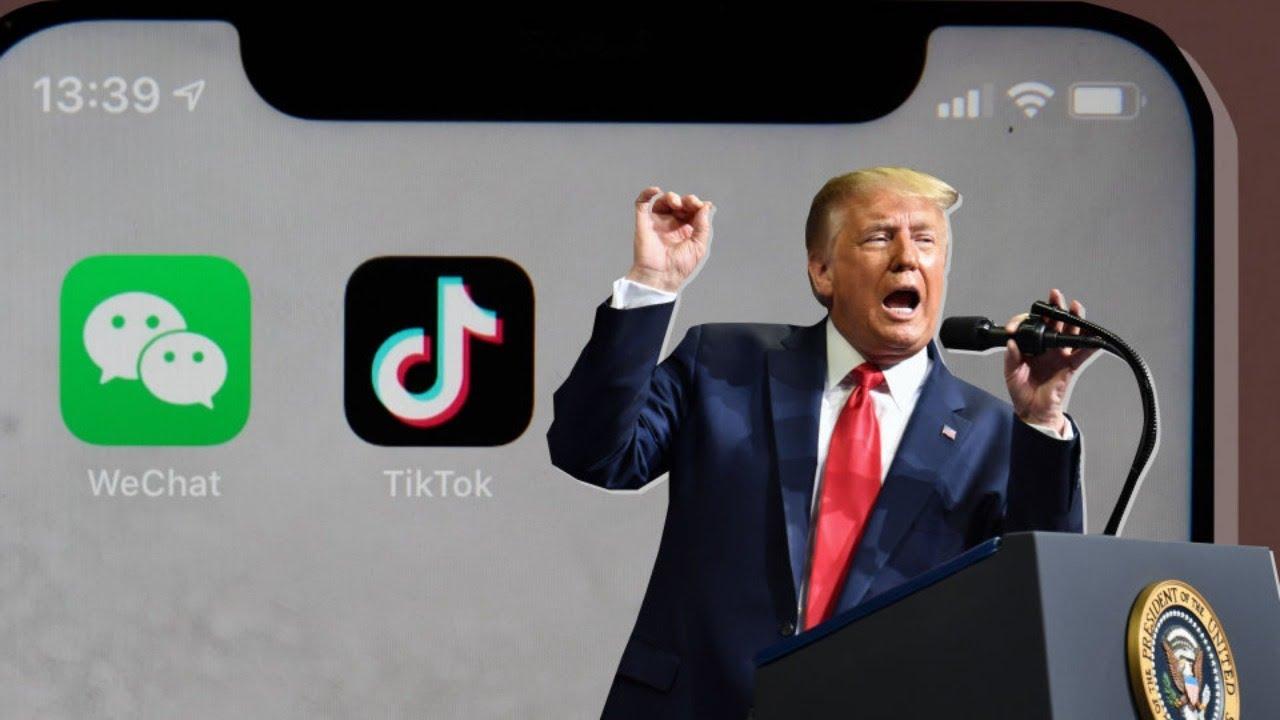 """Ông Trump tung đòn chót với TikTok và Wechat, còn 2 ngày để """"hồi tâm chuyển ý"""""""