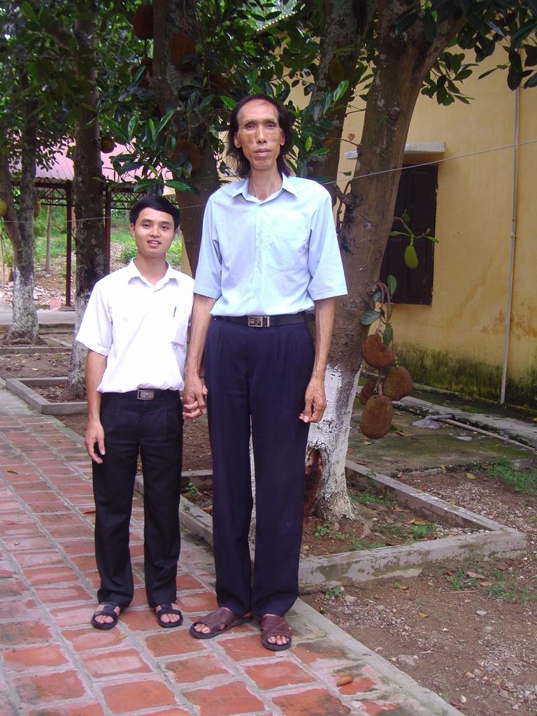 Top 6 Người cao nhất Việt Nam