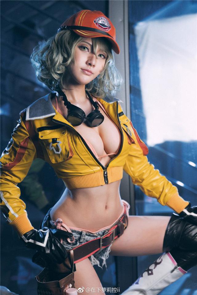 Cosplay Cindy Aurum cực nóng bỏng trong Final Fantasy XV