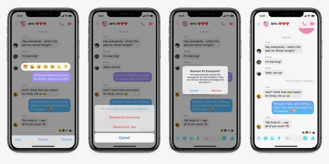 Facebook Messenger đã cho phép gỡ tin nhắn hoàn toàn, anh em game thủ mau vào test thử xem