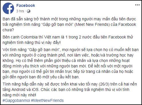 """""""Facebook hẹn hò"""" đã về Việt Nam, mở app để có ngay nhiều tính năng thả thính nóng hổi"""