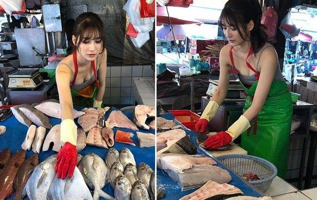 Hot girl bán cá nghèo khó ngày nào nay đã lột xác, đổi đời, làm bạn gái đại gia hơn 12 tuổi, hưởng cuộc sống sang chảnh
