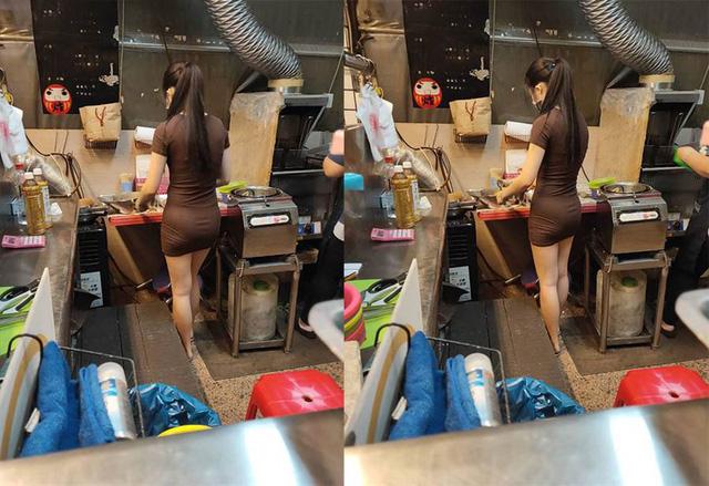 Bị chụp lén cảnh bán gà rán trong chợ, cô nàng được cộng đồng mạng phong hot girl chỉ sau một bài post