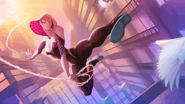 Chiêm ngưỡng bộ ảnh cosplay Spider-Gwen xuất thần của Shirogane-sama