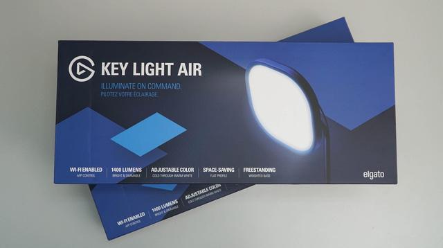 Elgato Key Light Air: Bộ đèn đẳng cấp streamer nào cũng nên sở hữu