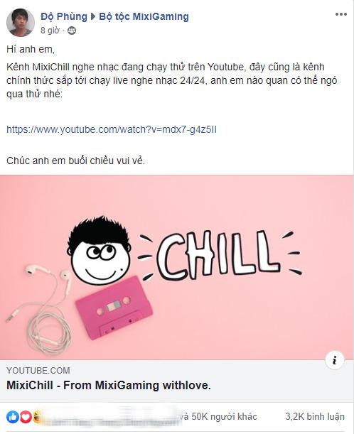 Sợ fans ở nhà buồn, 'Tộc trưởng' Độ Mixi dựng kênh YouTube chuyên chạy nhạc cho anh em… chill