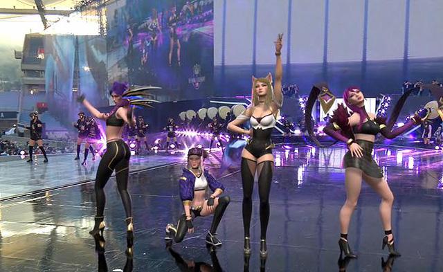 """Rụng tim với bộ ảnh cosplay nhóm nhạc K/DA """"vòng nào ra vòng đấy"""" của bộ tứ mỹ nhân xứ Hàn, hóa ra toàn streamer có tiếng"""