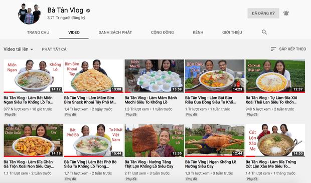 """Cả nhà bà Tân rủ nhau đi làm Vlog: dù không ít lùm xùm nhưng vẫn """"lên ầm ầm"""""""
