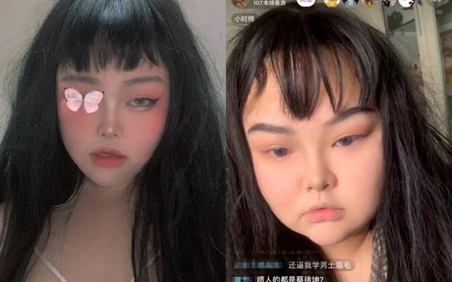 """Nhan sắc của các """"hot girl triệu view"""" Trung Quốc trước và sau khi tắt chỉnh sửa trên livestream: Người được khen ngợi, kẻ bị unfollow mất 90% fan hâm mộ"""