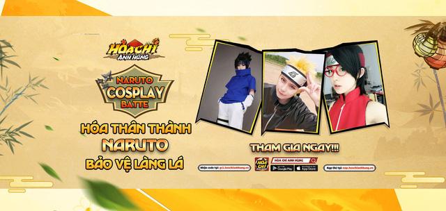 """Hỏa Chí Anh Hùng tổ chức cuộc thi Cosplay – Naruto Cosplay Battle tặng luôn tiền mặt """"độc nhất vô nhị"""""""