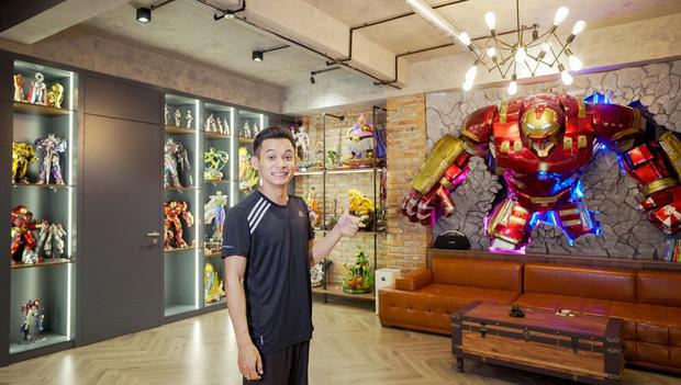Lên livestream giới thiệu nhà mới, Độ Mixi thu hút gần 250.000 lượt xem trực tuyến, nhìn bộ sưu tập Dragon Ball mà chỉ biết ước