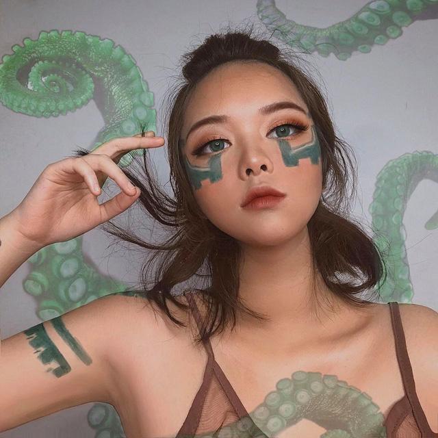 'Thánh nữ make-up' Thục Chi lại 'gây thương nhớ' với loạt hình cosplay Neeko Vệ Binh Tinh Tú đáng yêu hết nấc