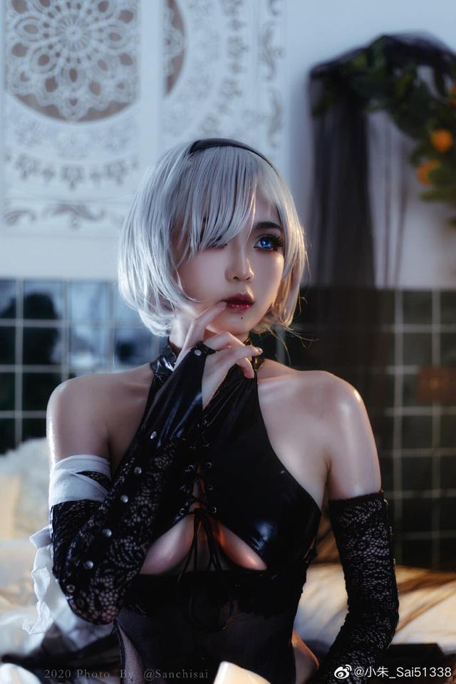 Ngây ngất ngắm phiên bản cosplay 2B – nữ nhân vật sexy bậc nhất thế giới game