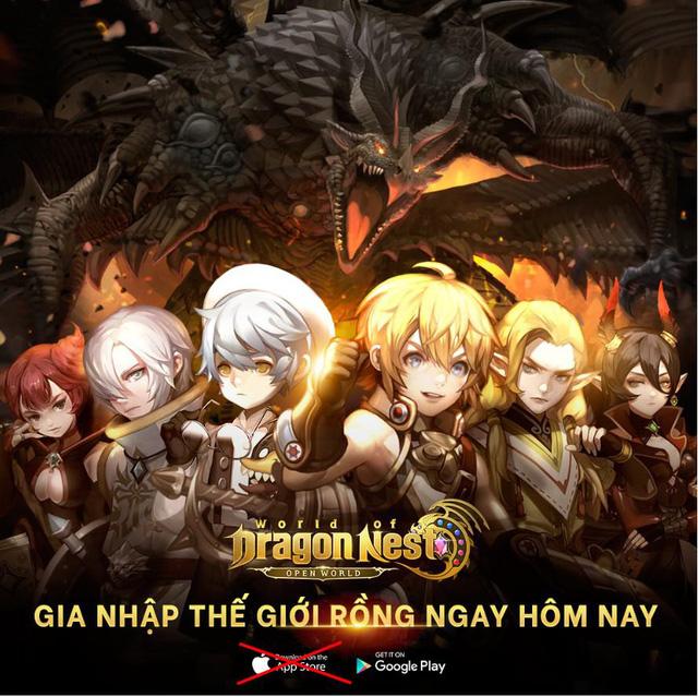 [HOT] Thế giới mở trong World of Dragon Nest – Bom tấn từ Eyedentity và Nexon đã sẵn sàng cho game thủ Việt khám phá