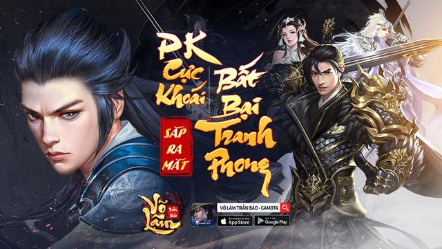 GAMOTA chính thức phát hành Võ Lâm Trấn Bảo – Siêu phẩm kiếm hiệp PK cực khoái