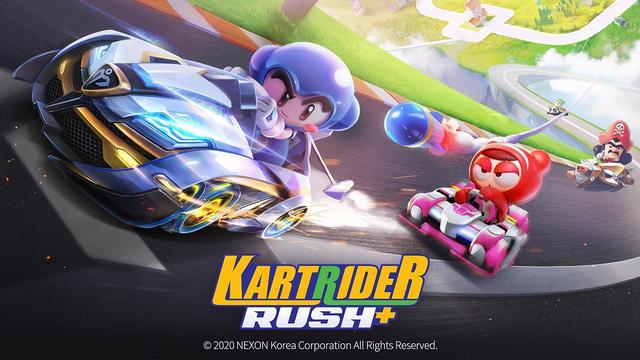 """Game khủng: KartRider Rush+ – game đua xe """"siêu to khổng lồ"""" lấy cảm hứng từ Boom Online đã chính thức phát hành riêng tại Việt Nam"""