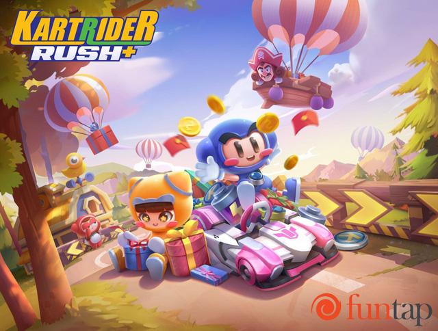 KartRider Rush+ – game bom tấn đua xe được mong chờ nhất 2020 chính thức ra mắt