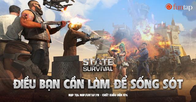 State of Survival: Game mobile chiến lược sinh tồn ngày tận thế hàng đầu thế giới đã xuất hiện tại Việt Nam