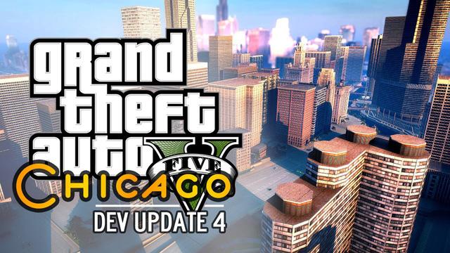 Bê nguyên thành phố Chicago vào GTA 5, ý tưởng điên khùng cuối cùng cũng sắp thành hiện thực