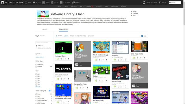 Mời anh em quay về tuổi thơ với thư viện game Flash cực lớn trên Internet Archive