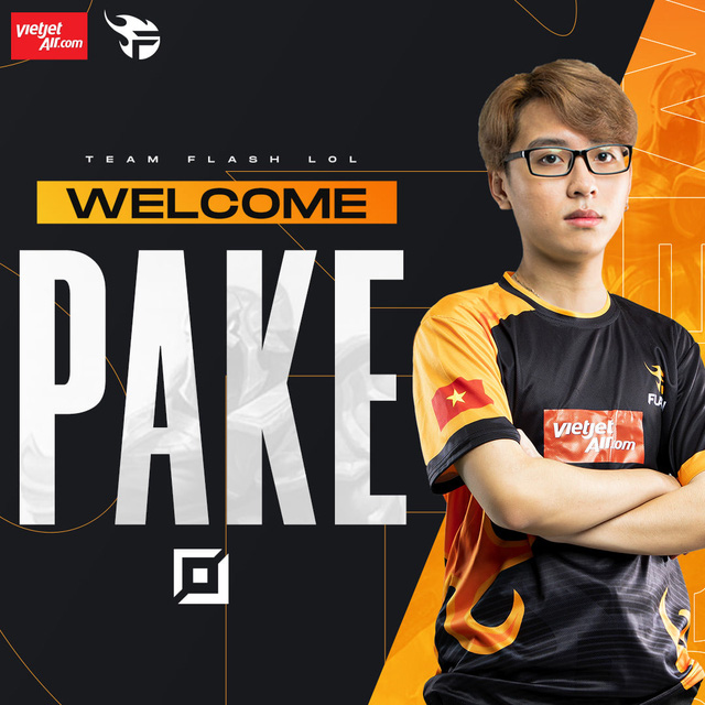 Team Flash thông báo chiêu mộ Pake, nhưng phản ứng của fan lại trái với mong đợi: 'Rồi xong! FL chỉ còn là phép bổ trợ'