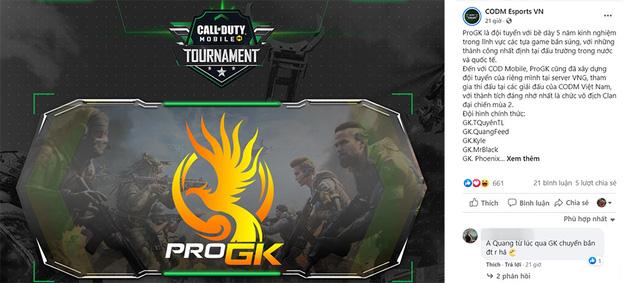 Gặp gỡ 02 đội tuyển khách mời danh dự của giải đấu Call of Duty Mobile Tournament – Oxygen Esports & ProGK