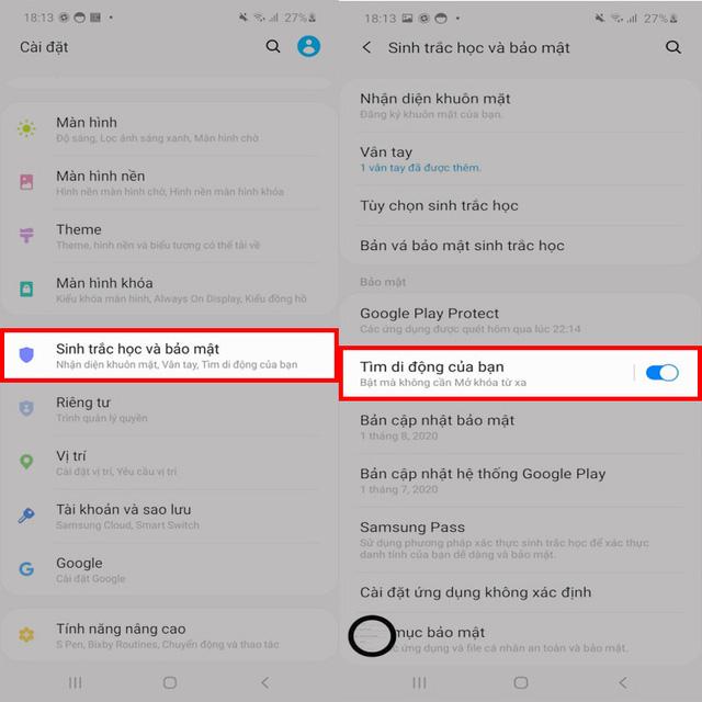 Hướng dẫn cách tìm lại điện thoại bị mất mà không cần kết nối internet