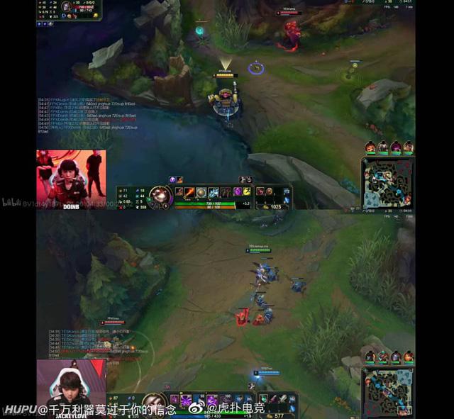 """Lại một pha """"đi vào lòng đất"""" của Doinb: Timing phép bổ trợ của đối thủ nhưng chat all để cả làng cùng đọc"""