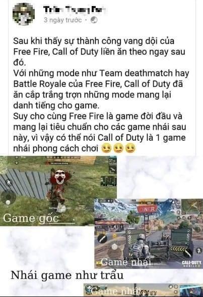 """Game thủ Free Fire đòi kiện bom tấn """"đang chết dần"""" của VNG vì đạo nhái và ăn cắp ý tưởng game của mình"""