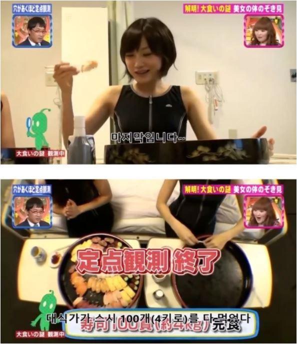 Ăn 100 miếng sushi cùng lúc, nữ YouTuber gây sốc khi công khai luôn ảnh chụp CT dạ dày, chứng minh mình không gian dối