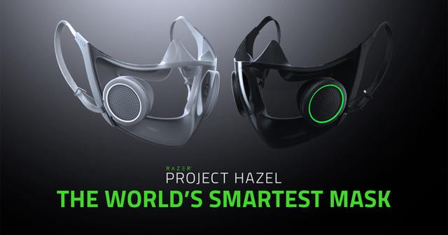 Razer chính thức phát triển khẩu trang thông minh Project Hazel với tính năng biến đổi giọng nói và RGB đầy cá tính