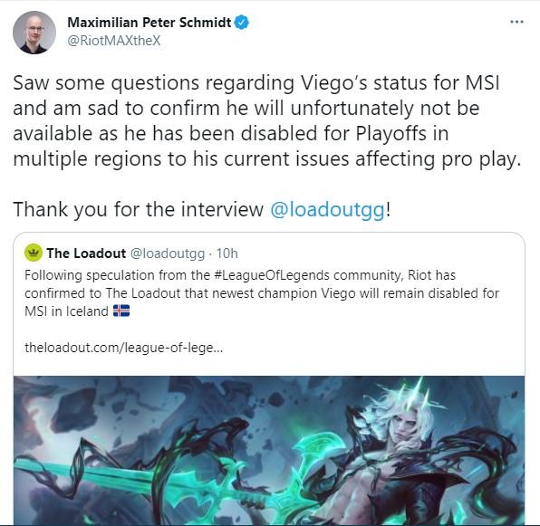 LMHT: Nhiều khả năng Viego sẽ được Riot Games cho phép xuất hiện tại các giải đấu mùa hè sắp tới