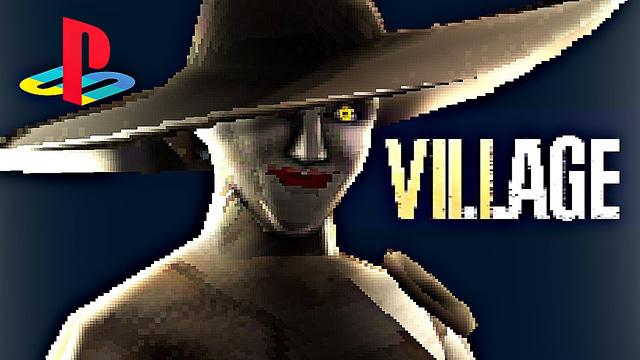 Sẽ thế nào nếu Resident Evil Village có phiên bản PS1, nhìn Lady Dimitrescu thế này mới đúng là kinh dị