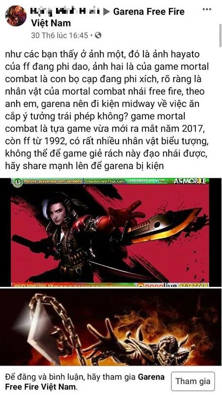 """Fan Việt """"ăn vạ"""" muốn kiện Mortal Kombat vì đạo nhái, tựa game này quyết định hợp tác với Street Fighter?"""