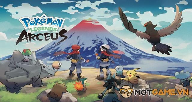 Pokemon Brilliant Diamond/Shining Pearl và Legends: Arceus chính thức công bố ngày phát hành