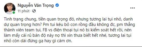 """Thầy Ren tiết lộ chuyện được """"gạ bán độ"""" trắng trợn, 35 triệu 1 con Rồng đầu, """"hợp tác lâu dài"""" giá cả chục ngàn USD"""
