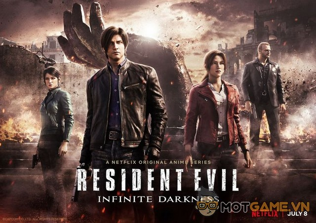 Resident Evil: Infinite Darkness sẽ lên sóng Netflix đầu tháng 7/2021