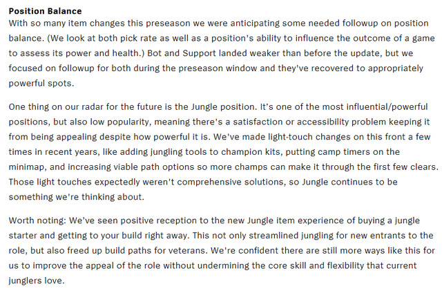LMHT: Riot Games chia sẻ về hiện trạng của vị trí Đi rừng – Sức mạnh lớn nhưng độ phổ biến quá thấp