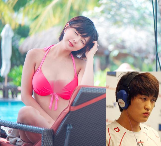 Nhan sắc nóng bỏng của người mẫu bị game thủ số 1 Hàn Quốc ruồng bỏ