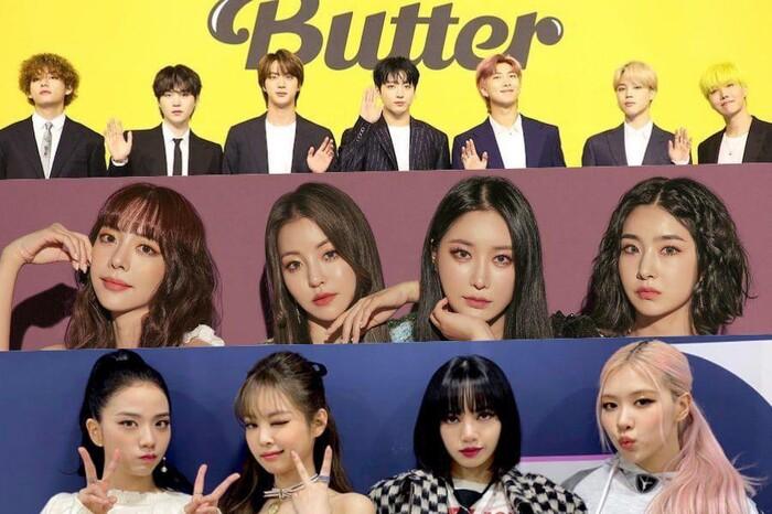 BXH thương hiệu nhóm nhạc KPop 5/2021: BTS 'on top' không đối thủ, loạt girlgroup áp đảo BlackPink
