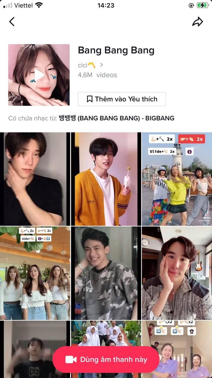 'Cú nổ' mạnh mẽ trên Tiktok, Bang Bang Bang của BigBang lập kỷ lục 2 tỷ lượt xem