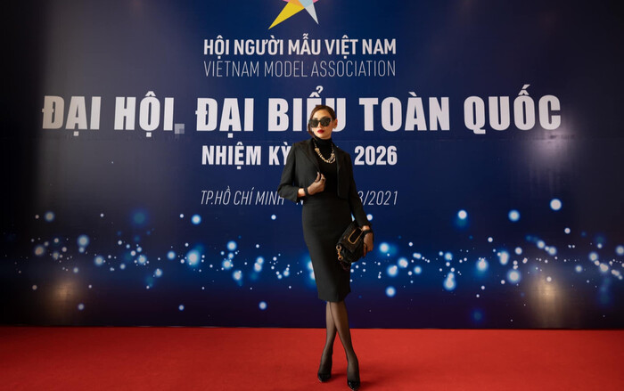 Võ Hoàng Yến xúc động nhận nhiệm vụ trong Ban chấp hành Hội Người mẫu Việt Nam