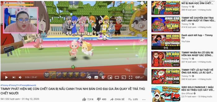Chủ kênh YouTube Timmy TV xin lỗi khán giả, sẽ dừng việc sản xuất và đăng tải clip