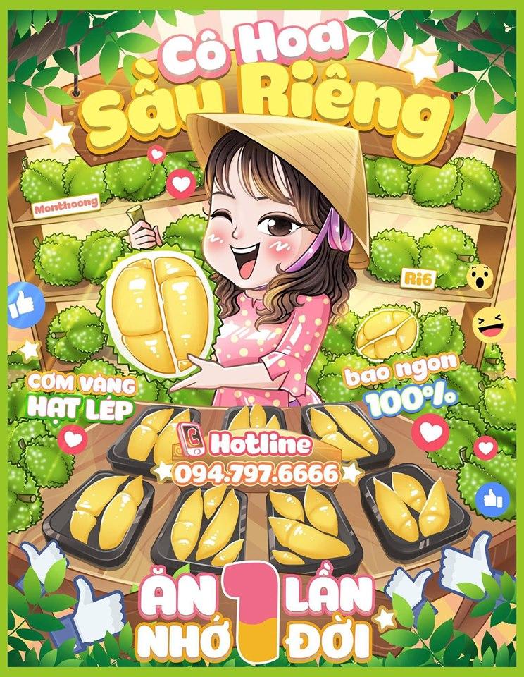 Top 4 Địa chỉ bán sầu riêng ngon và chất lượng nhất ở Hà Nội