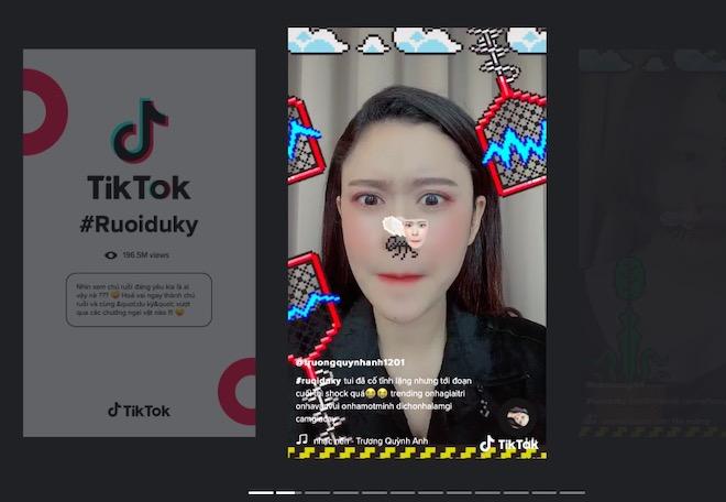 Những video game tương tác trăm triệu view trên TikTok với công nghệ AR